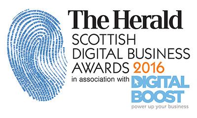 The Herald Scottish Digital Business Awards 2016 Logo