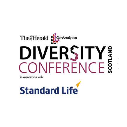 diversity conference logo circle