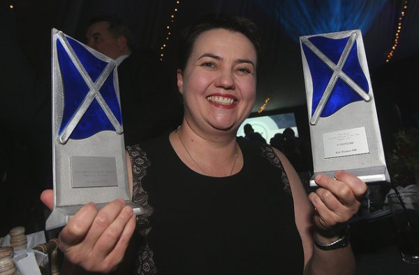 Ruth Davidson, winner of the Herald Scottish Politician of the Year awards at Edinbugrh's Prestonfield House
